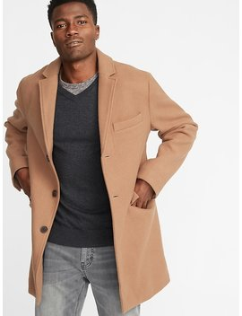 Soft Brushed Topcoat For Men by Old Navy