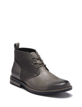 Minos Canvas Leather Boot by Robert Wayne