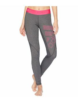 Alphaskin Sport Long Logo Tights by Adidas