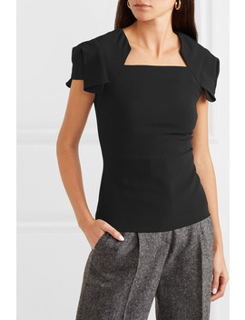 Darfield Crepe Top by Roland Mouret