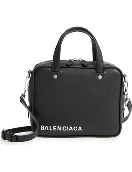 Extra Small Triangle Leather Satchel by Balenciaga
