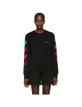 Black Gradient Sweatshirt by Off White