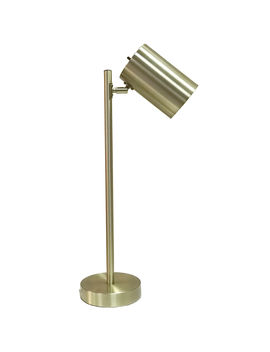 Brass Metal Pole Task Lamp 22 In. by At Home