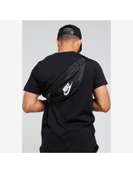 Nike Nsw Heritage Side Bag Black/White by Nike