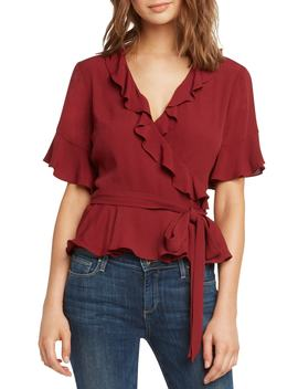 Ruffle Wrap Top by Willow & Clay