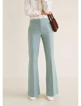 Pantalon De Costume Flare by Mango