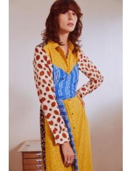 Fleamadonna – Hemdkleid Mit Verdrehtem Design by Fleamadonna Shoppen