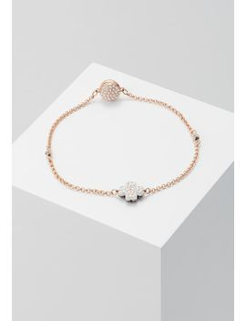 Remix Strand Clover    Armband   Rose Gold by Swarovski
