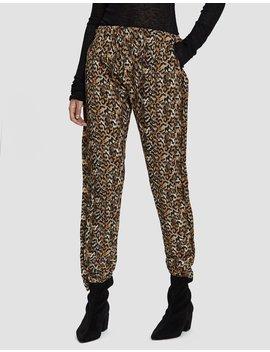 Cardio Leopard Print Jogger by Collina Strada