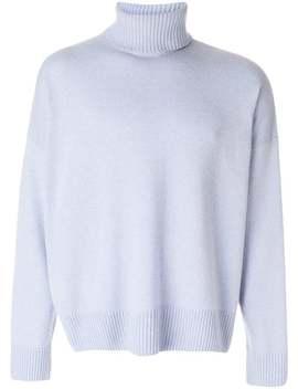 Ami Alexandre Mattiussi Turtle Neck Oversize Fit Sweaterhome Men Ami Alexandre Mattiussi Clothing Knitted Sweaters by Ami Alexandre Mattiussi