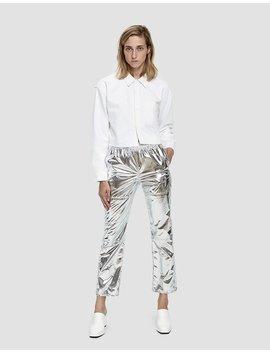 Metallic Pants by Mm6 Maison Margiela