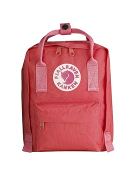 Fjallraven Kanken Mini Backpack Peach Pink by Well
