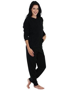 Sleepyheads Women's Sleepwear Fleece Non Footed Color Onesie Pajamas Jumpsuit by Sleepyheads