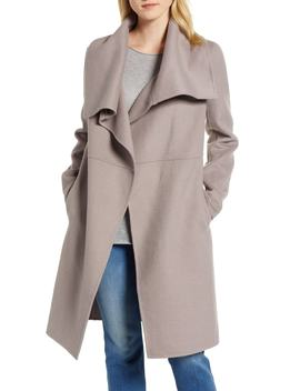 Double Faced Shawl Coat by Halogen®
