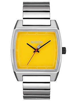 Nixon Time Tracker Star Wars Watch Lando Silver Yellow 37mm by Nixon