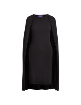 Merino Wool Cape Dress by Ralph Lauren