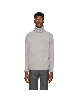 Grey Windy Turtleneck by Harmony