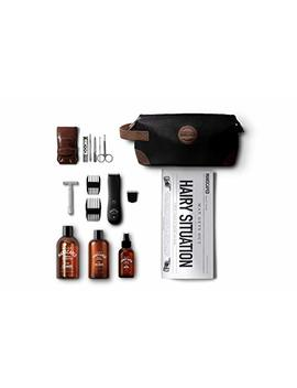Men's Grooming Kit Includes: Manscaping Trimmer, Ball Deodorant, All In One Body Wash, Performance Spray On Body Toner, Double Edged Straight Razor, Five Piece Nail... by Manscaped