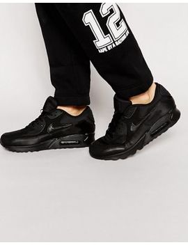 Nike Air Max 90 Essential Sneakers In Black 537384 090 by Nike