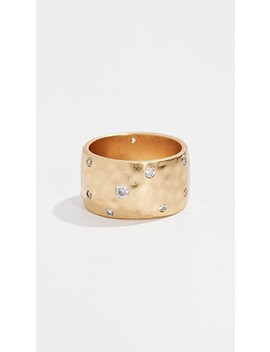 Elegant Edge Cigar Ring by Kate Spade New York