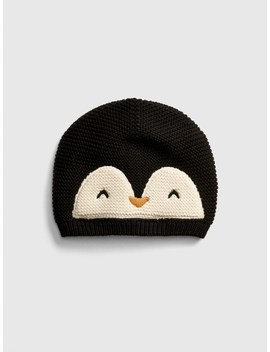 Penguin Garter Beanie by Gap