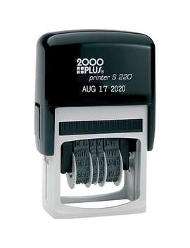 2000 Plus® Self Inking Date Stamp by 2000 Plus