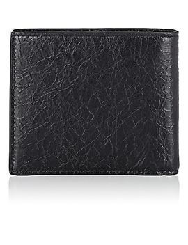 Explorer Arena Leather Billfold by Balenciaga