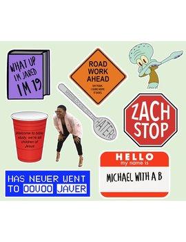 Vine/Meme Sticker by Etsy