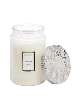 Large Glass Jar Candle by Voluspa