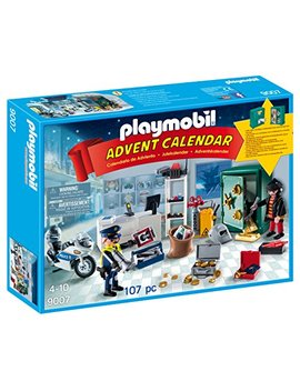 Playmobil® Advent Calendar   Jewel Thief Police Operation by Playmobil®