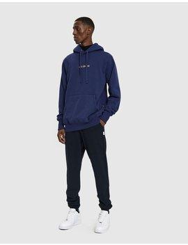 Kanga Hooded Sweatshirt In Navy by Aimé Leon Dore