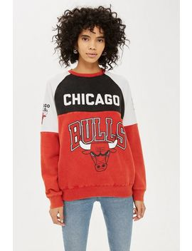 Bulls Colourblock Sweatshirt By Unk X Topshop by Topshop