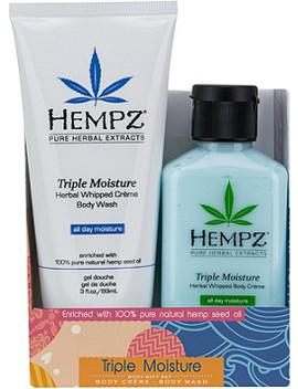 Triple Moisture Duo Body Gift Set by Hempz