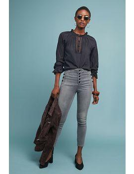 J Brand Natasha Sky High Cropped Skinny Jeans by J Brand