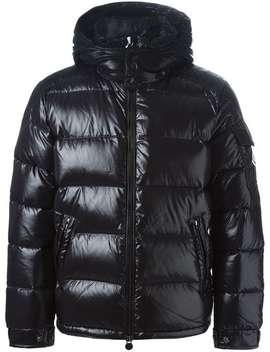 Moncler'maya' Padded Jackethome Men Moncler Clothing Ski Tops by Moncler
