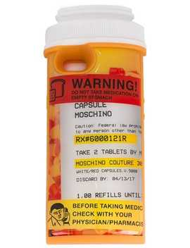 Pill Pot I Phone 6 Case by Moschino