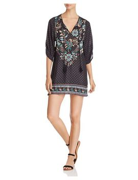 Embroidered Tunic Dress by Tolani