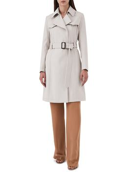 Hurley Belted Wool Blend Coat by Reiss