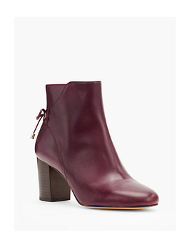 Lilia Block Heel Ankle Boots by Talbots