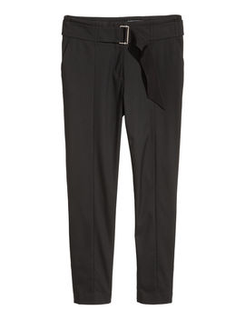 Belted Pants by H&M