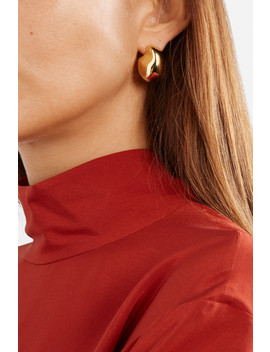 Rêve Naissant Gold Plated Earrings by Mounser