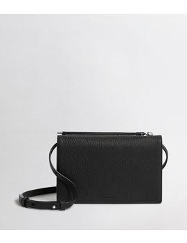 Fetch Leather Chain Crossbody Bag by Allsaints
