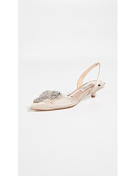 Vera Pointed Toe Slingback Pumps by Badgley Mischka