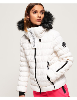 Sd Stealth Ski Down Bomber Jacket by Superdry