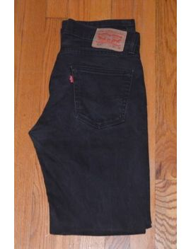 "Levi's Men's 514 Slim Straight Fit Padox Jeans Black Size 30"" X 32"" by Levi's"