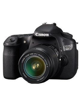 Canon Eos 60 D 18 Mp Cmos Digital Slr Camera With 3.0 Inch Lcd & 18 55mm F/3.5 5.6 Is Zoom Lens by Canon