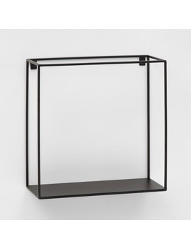 "Metal Wire Shelf (12"")   Black   Project 62™ by Project 62™"