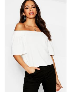 Off The Shoulder Top by Boohoo