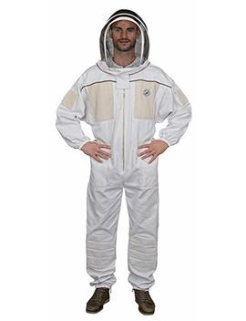 Humble Bee 431 M Ventilated Beekeeping Suit With Fencing Veil (Medium) by Humble Bee