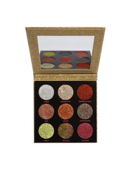 Revolution Pressed Glitter Palette Midas Touch 14g by Makeup Revolution